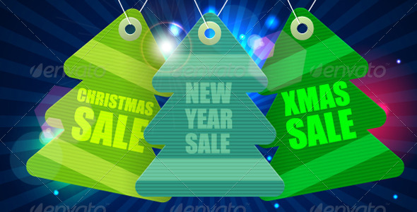 GraphicRiver New year sale tag 7692603