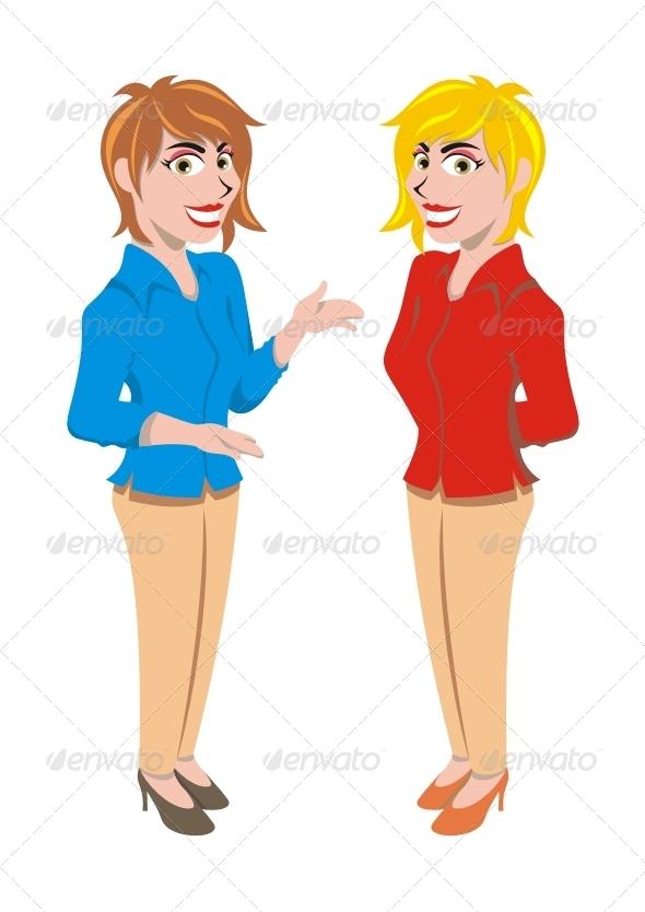 GraphicRiver Female Presenter 7692814