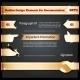 Golden Design Elements for Documentation Set - GraphicRiver Item for Sale