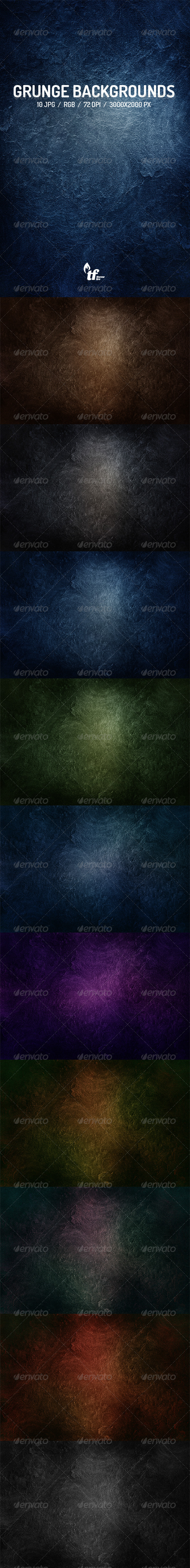 GraphicRiver Grunge Backgrounds 7692949