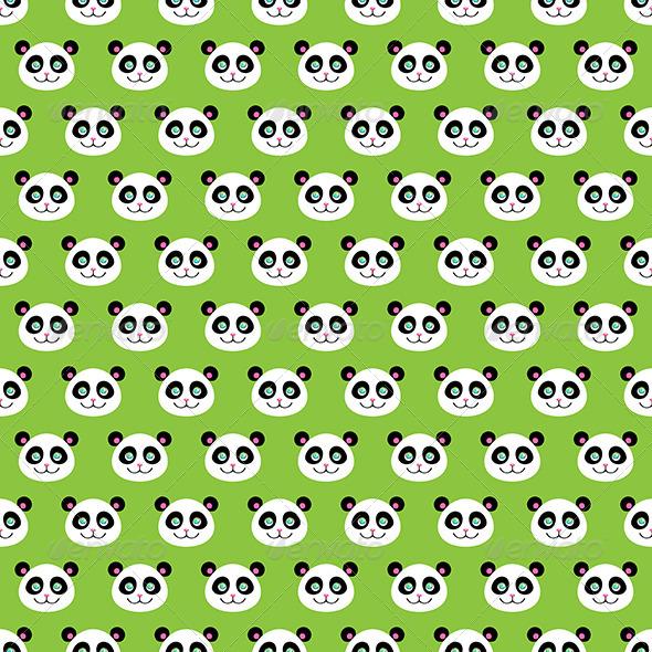 GraphicRiver Smiling Pandas 7693093