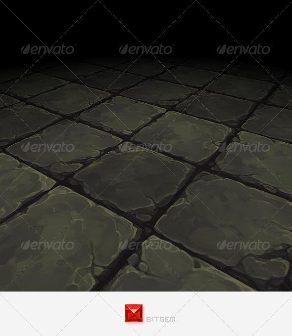 Floor Texture Tile 19 - 3DOcean Item for Sale