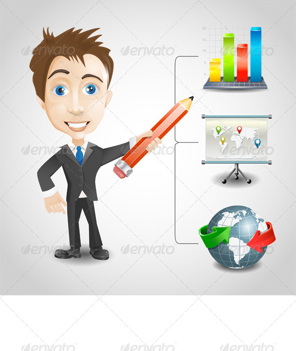 Presentation Businessman