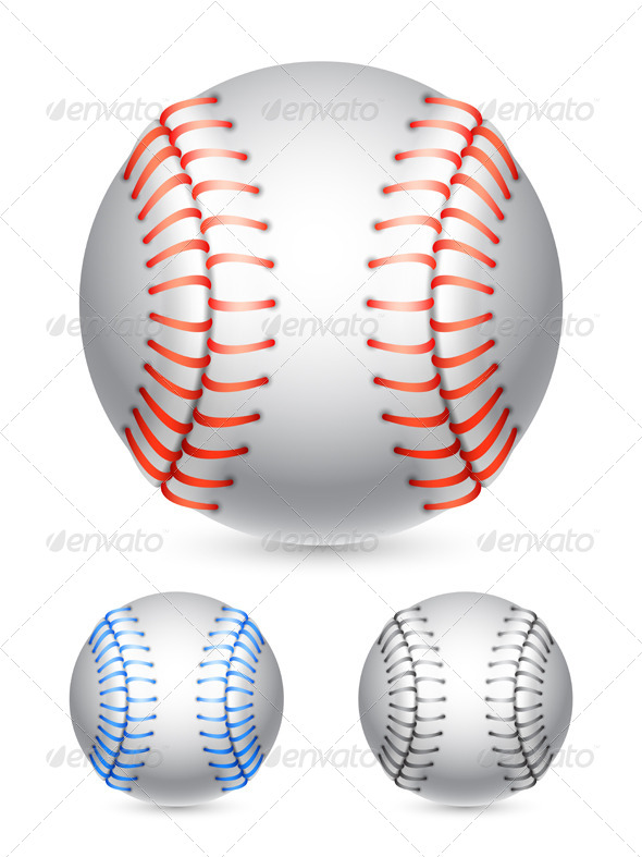 GraphicRiver Baseball Ball 7693958