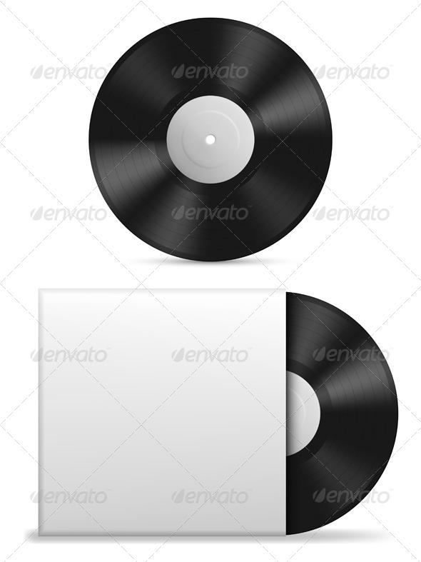 GraphicRiver Vinyl Record 7694116