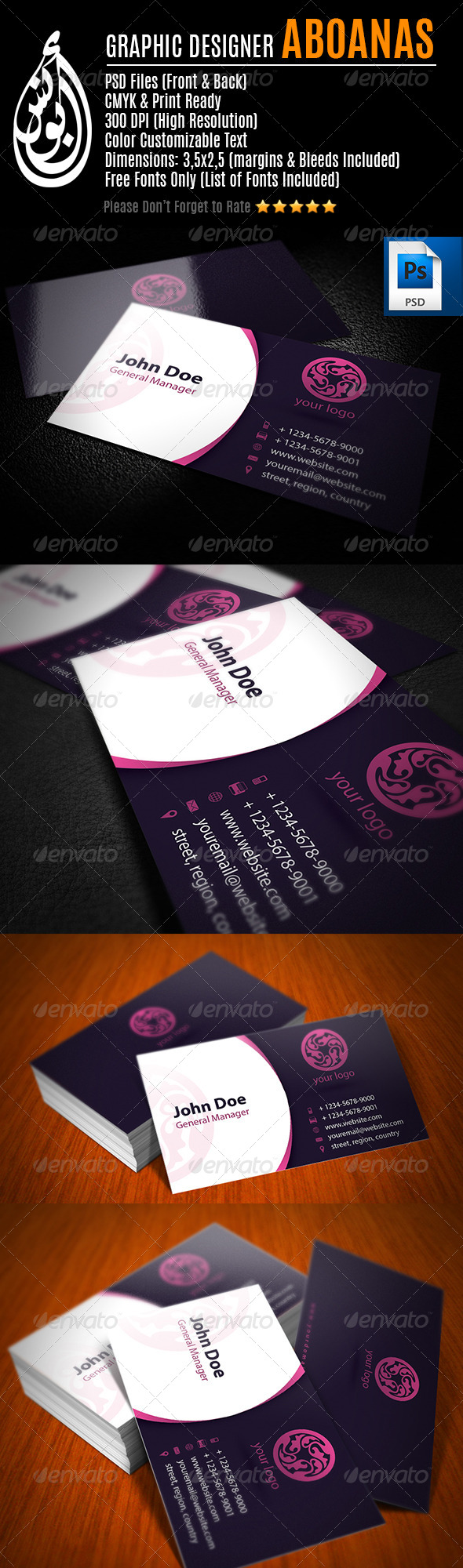 GraphicRiver Business Card Template 15 7694505