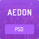 Aedon Creative PSD Theme - ThemeForest Item for Sale