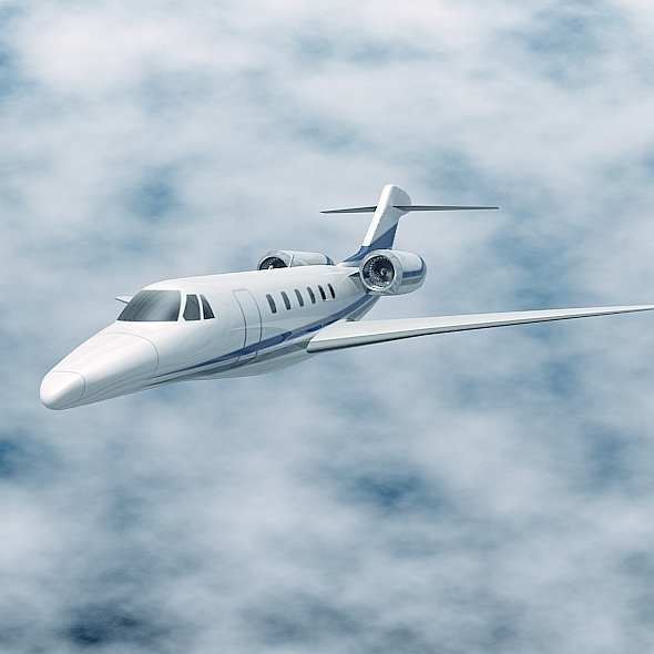 Cessna Citation X business jet - 3DOcean Item for Sale