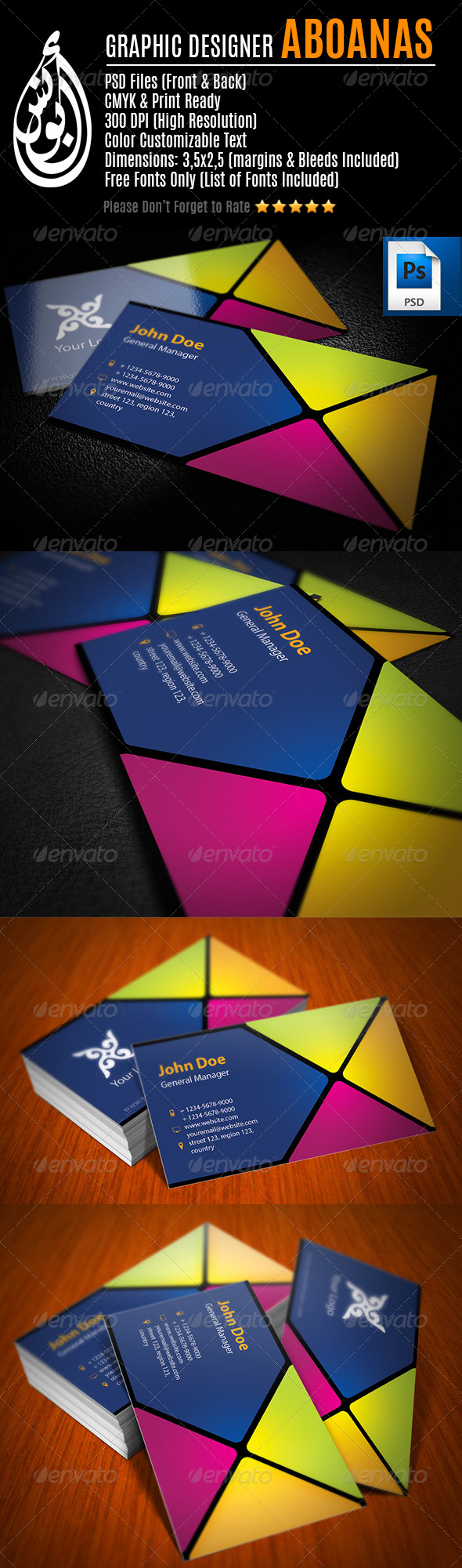 GraphicRiver Business Card Template 18 7694699