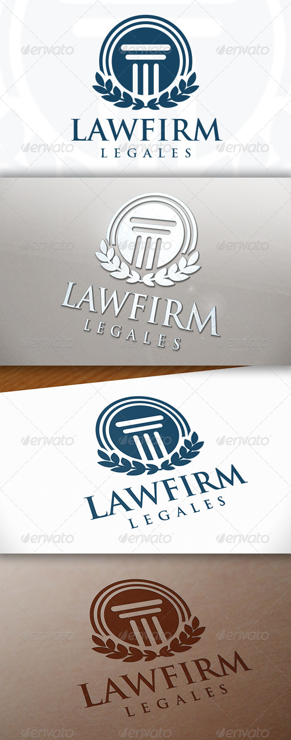 GraphicRiver Law Firm Logo 7694700