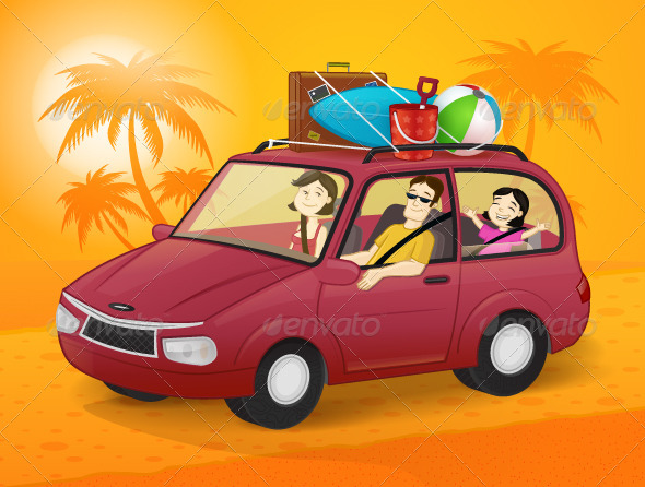 GraphicRiver Family Vacation 7694947