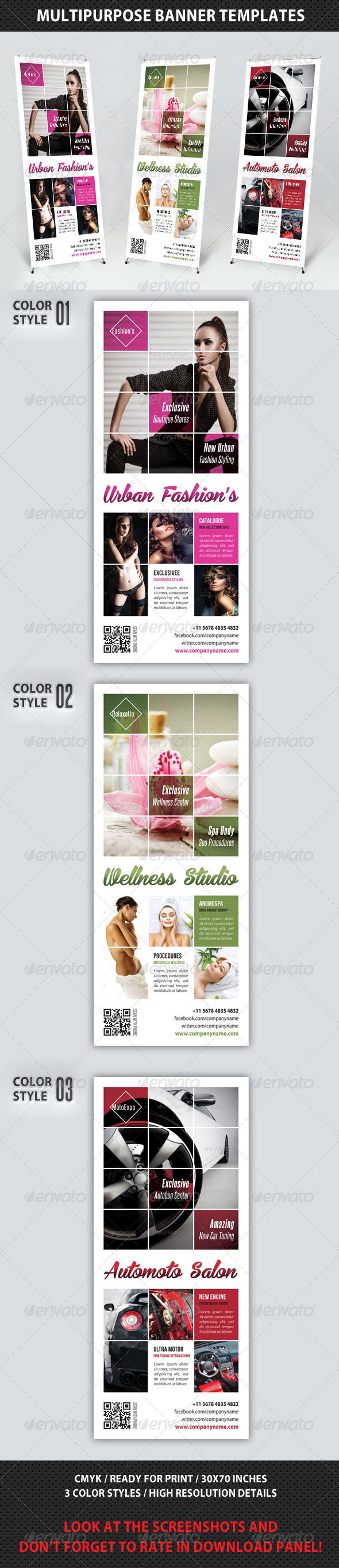 GraphicRiver Multipurpose Banner Template V04 7695003