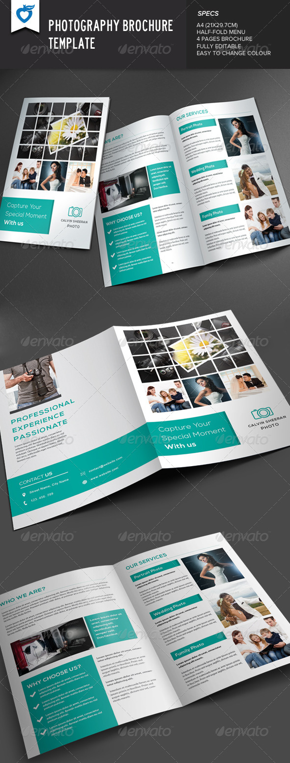 GraphicRiver Photography Brochure 7672250