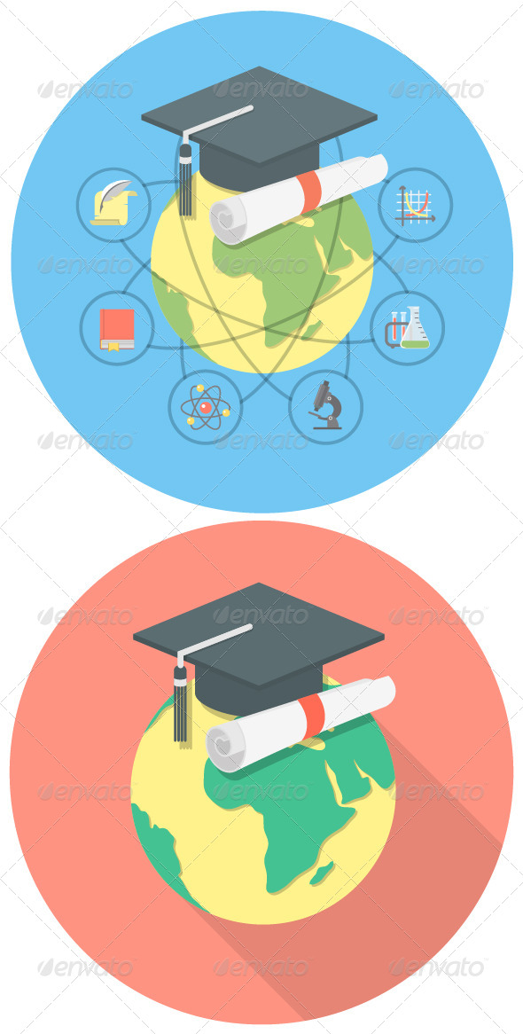GraphicRiver Academic Education Concept 7696173
