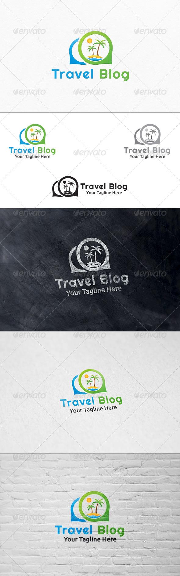 GraphicRiver Travel Blog Logo Template 7696310