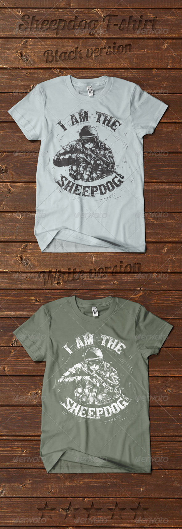 GraphicRiver Sheepdog T-shirt 7664458