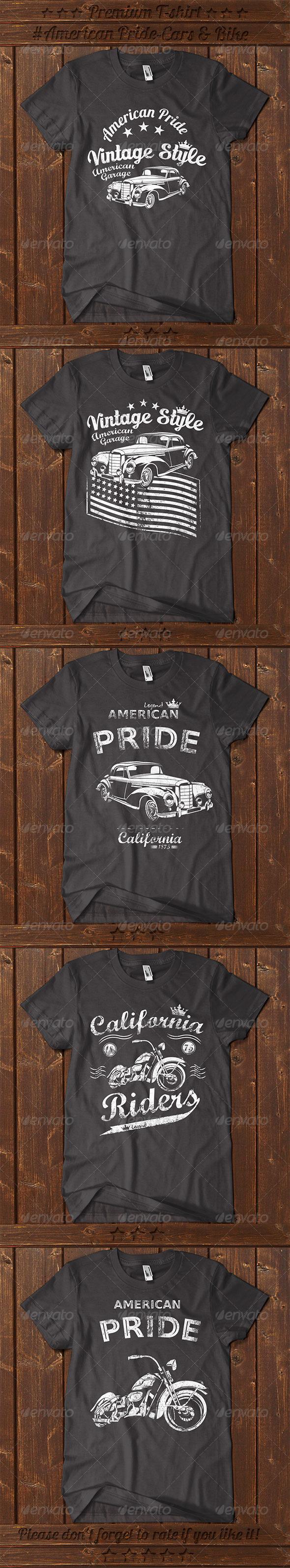 GraphicRiver 5 American Pride T-shirt 7664602