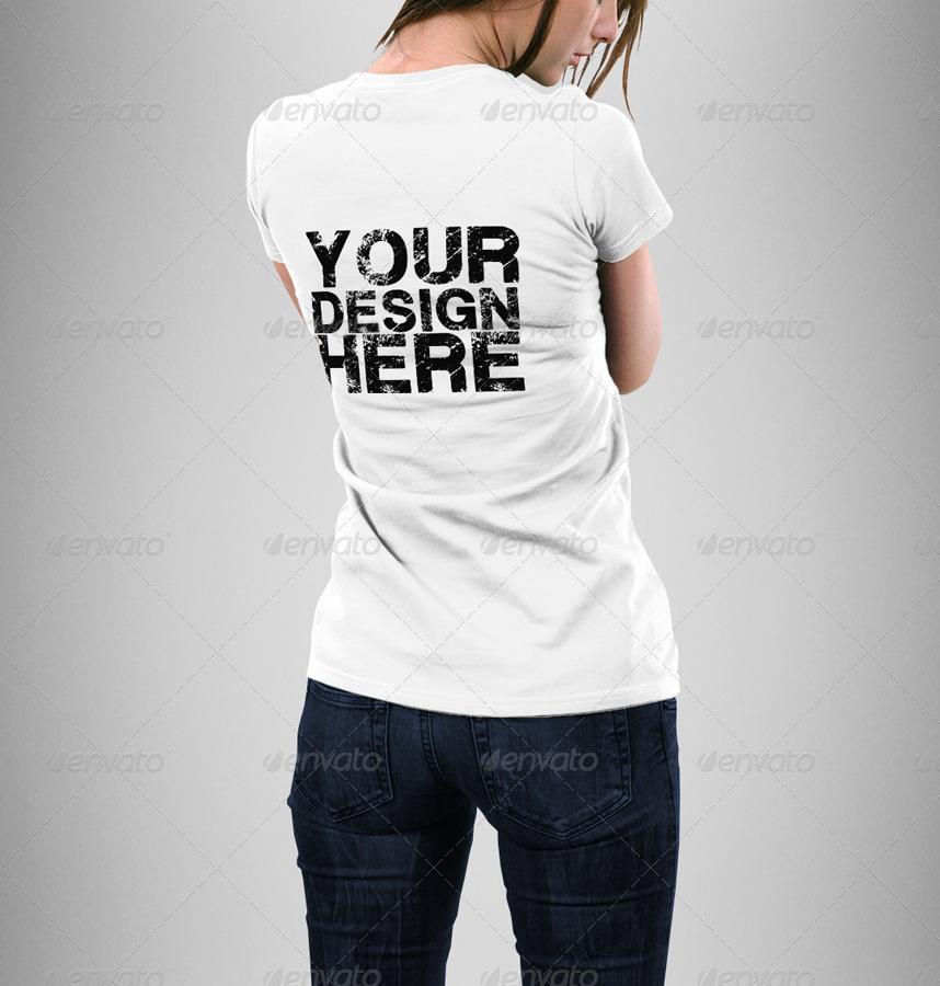 Man woman t shirt mock up bundle by eugene design for T shirt mock ups