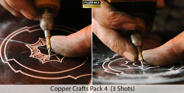 Copper Crafts Pack 4