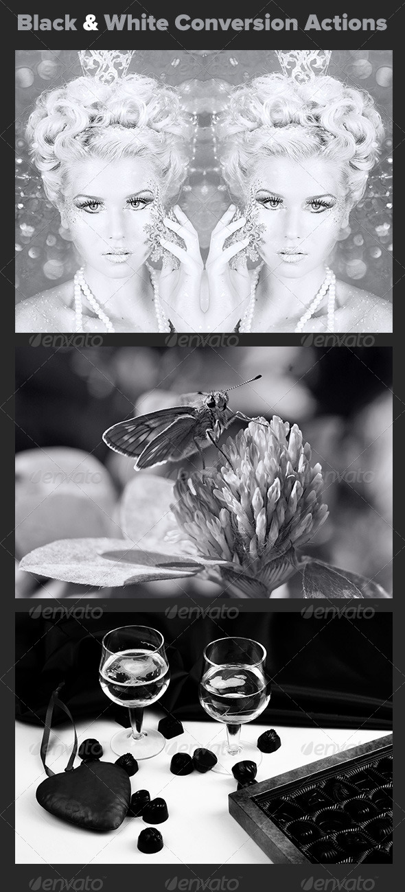 GraphicRiver Black and White Conversion Actions 7696966