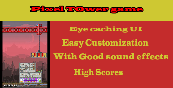 CodeCanyon Pixel Tower Game 7697521