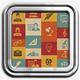 Retro Education Icons - GraphicRiver Item for Sale