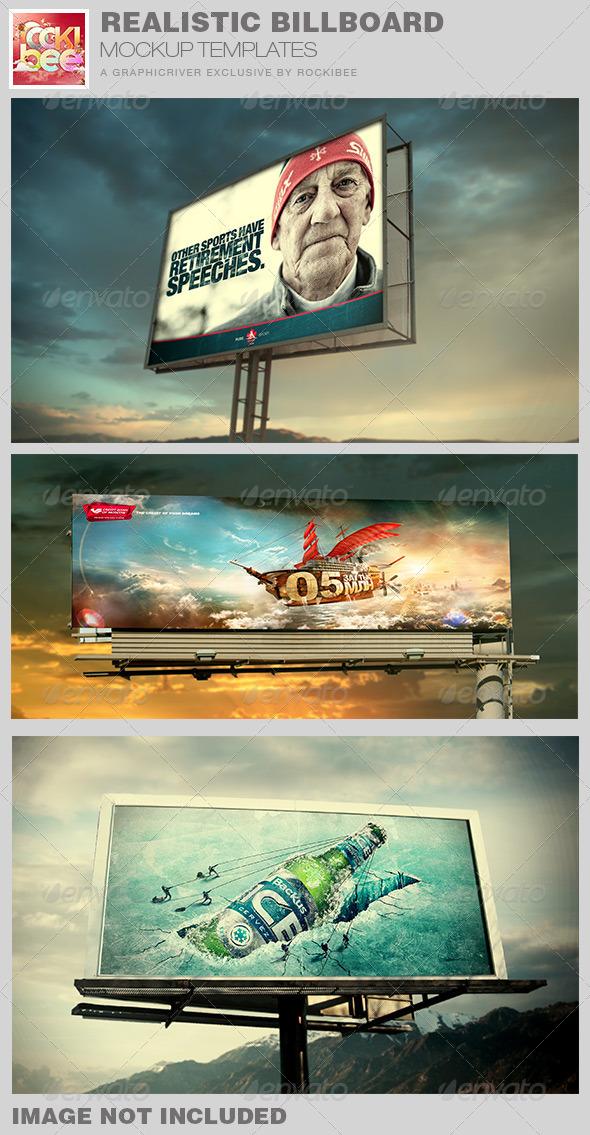 GraphicRiver Realistic Billboard Mockup Templates 7698964