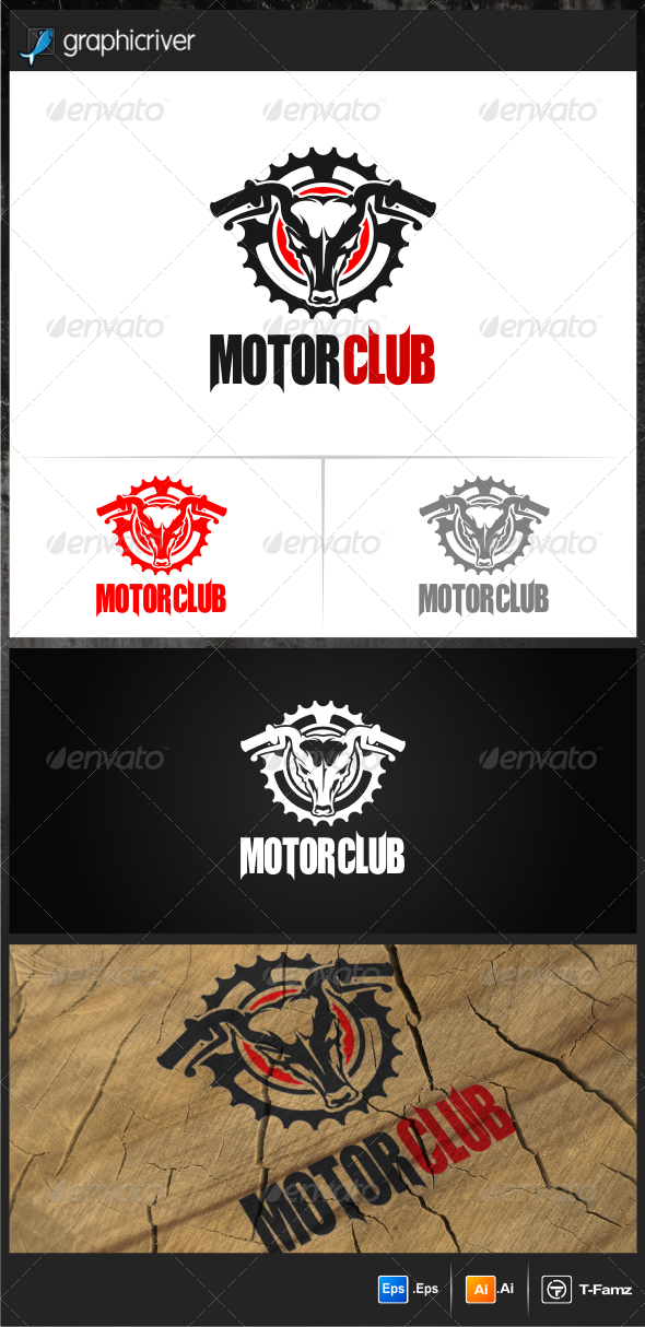GraphicRiver Motor Club Logo Templates 7699159