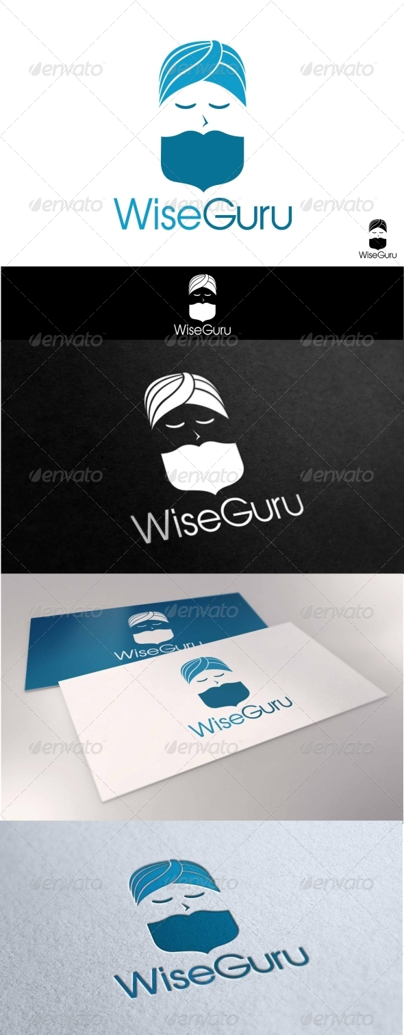 GraphicRiver Wise Guru Logo 7666303
