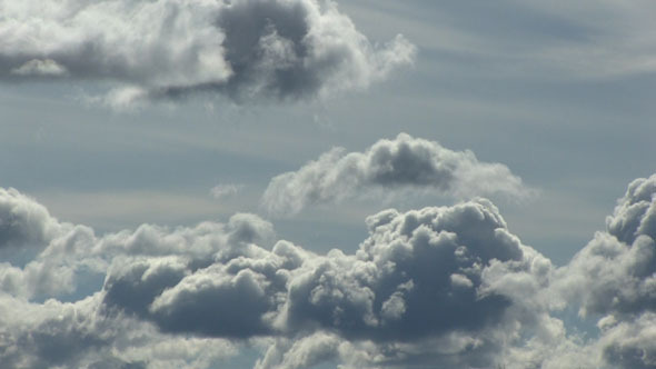 Clouds Forming In The Sky