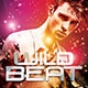 Wild Beat Party Flyer - GraphicRiver Item for Sale