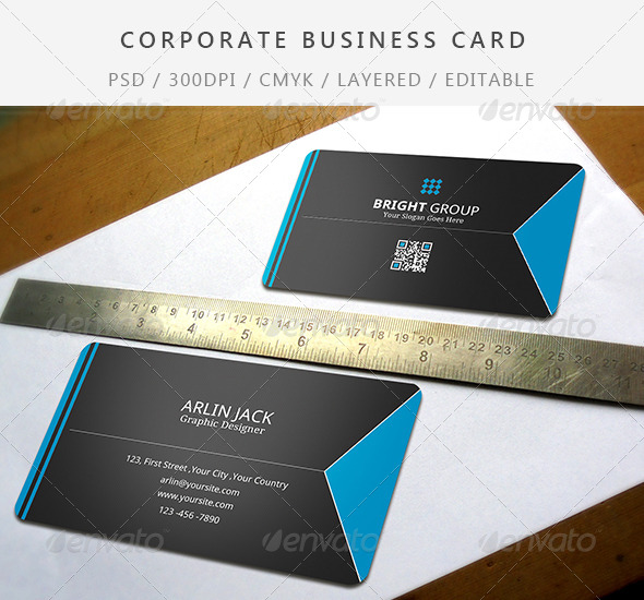 GraphicRiver Simple Business Card Design 7699902