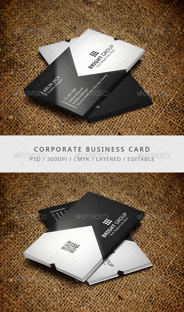 GraphicRiver Corporate Business Card 7699913