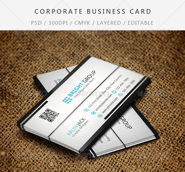 GraphicRiver Corporate Business Card 7699965
