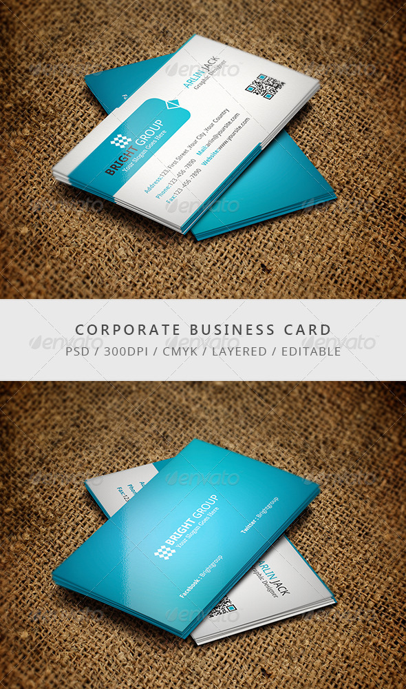 GraphicRiver Company Business Card 7699967