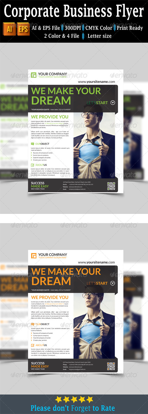GraphicRiver Corporate Business Flyer 7699978