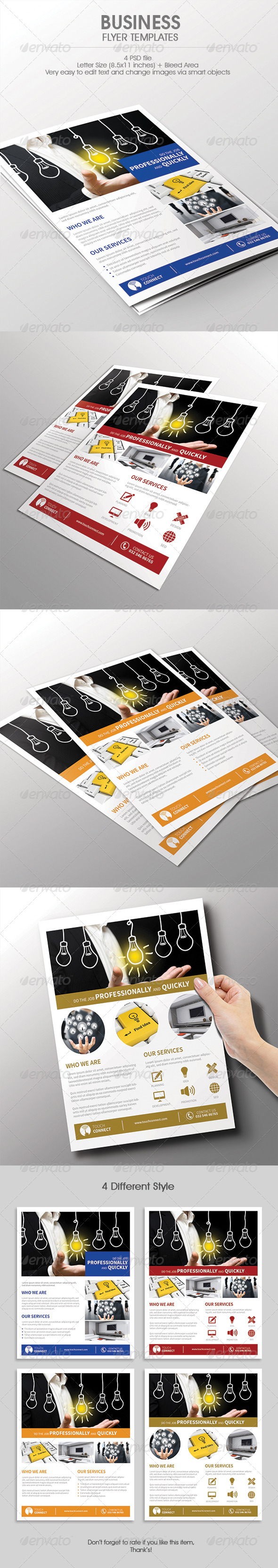 GraphicRiver Corporate Business Flyer 7700108