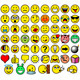 Classic Retro Style 54 Smileys - GraphicRiver Item for Sale