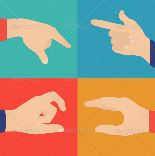 GraphicRiver Hands in Action 7689001
