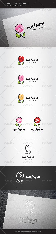 GraphicRiver Natura Logo 7700819