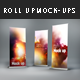 4 Photorealistic Roll Up Mock-Ups - GraphicRiver Item for Sale