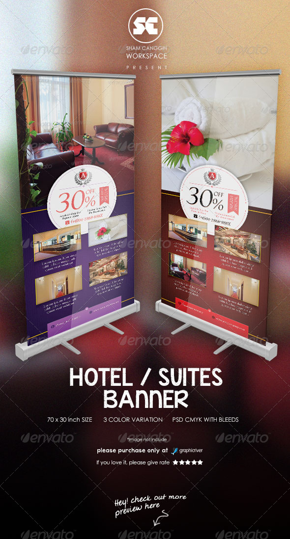 GraphicRiver Hotel Suites Banner 7700899