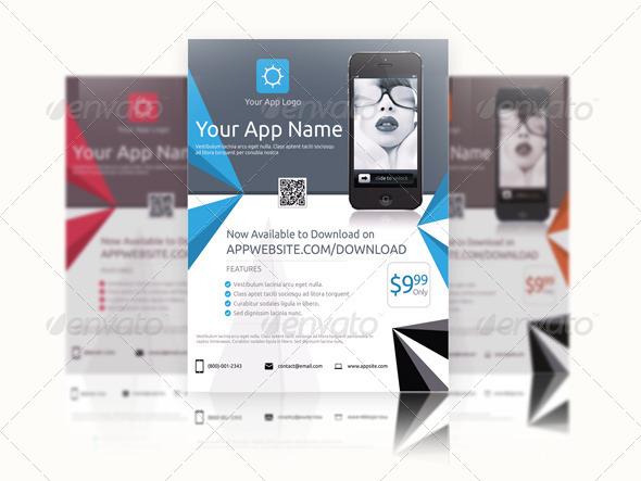 GraphicRiver App Promotion Flyer 7679993