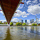 Under the Bridge Skyline - VideoHive Item for Sale