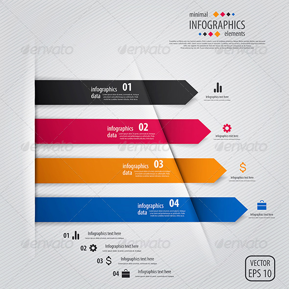 GraphicRiver This is the Minimal Infographics 7664412