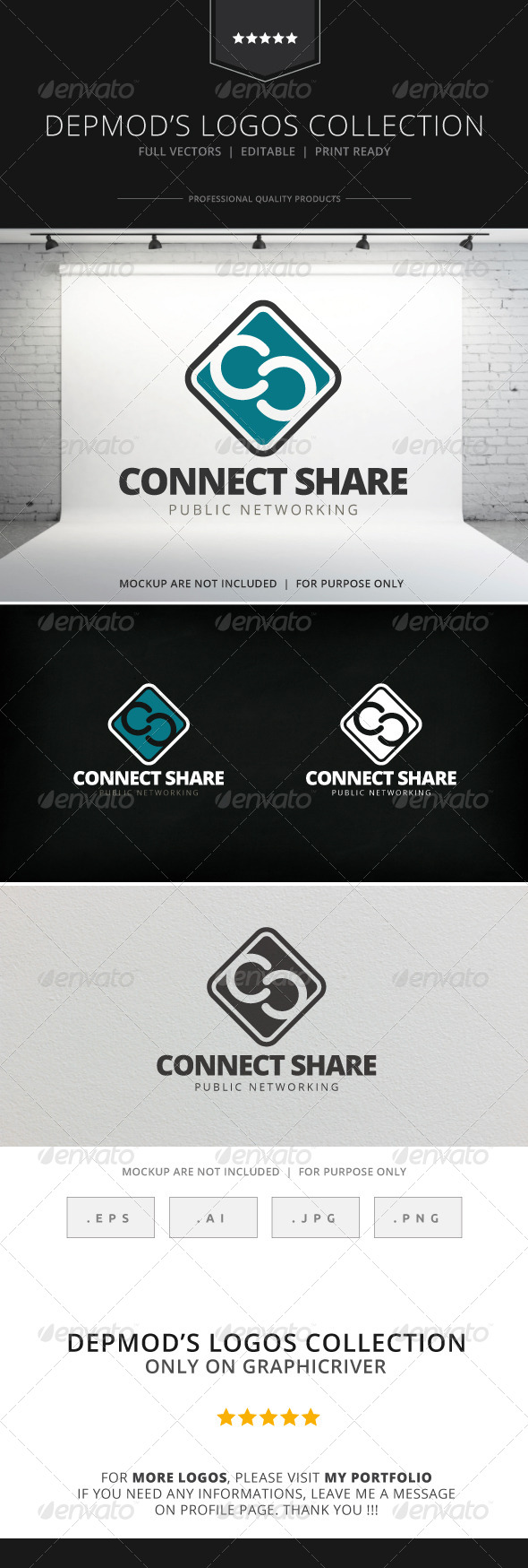 GraphicRiver Connect Share logo 7702504