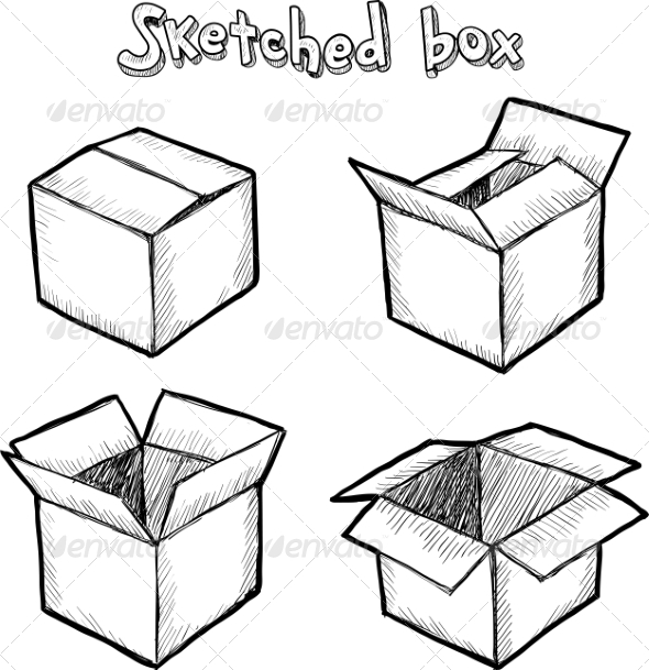 Hand-Drawn Boxes