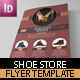 Shoe Flyer Template - GraphicRiver Item for Sale