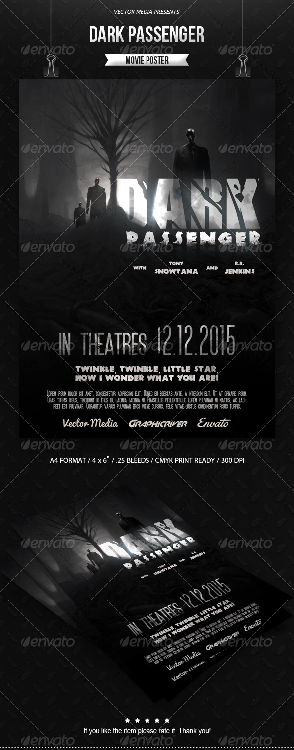 GraphicRiver - Horror - Movie Poster [Vol.4] - 7702892