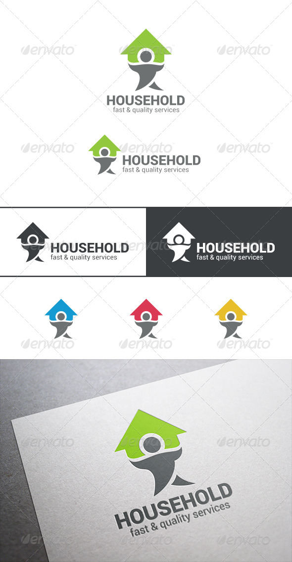 GraphicRiver House Service Logo 7703188